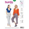Burda Style Misses Jogging Trousers Elasticated Comfort Wear Sewing Pattern 6333