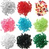 5mm Pearl Plastic Beads 19 Colours