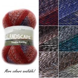 James C Brett Landscape DK Cotton Yarn Knitting Crochet Craft 100g Ball