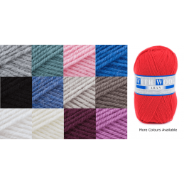 James C Brett With Wool Aran 400g Knitting Yarn Knit Wool Craft