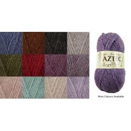 James C Brett Aztec Aran Yarn1400g Knitting Yarn Knit Wool Craft