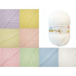 James C Brett Baby Aran Yarn 100g Knitting Yarn Knit Wool Craft 100% Acrylic