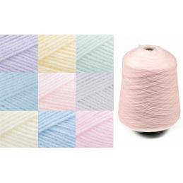 James C Brett Baby 4 Ply Yarn 500g Cone Knitting Yarn Knit Craft 100% Acrylic