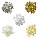 Oval Drop Pearls 3mm x 9mm 5 Colours