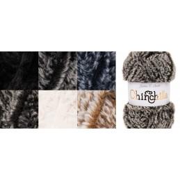 James C Brett Chinchilla Yarn 100g Ball Faux Fur Soft Knitting Yarn Knit Craft