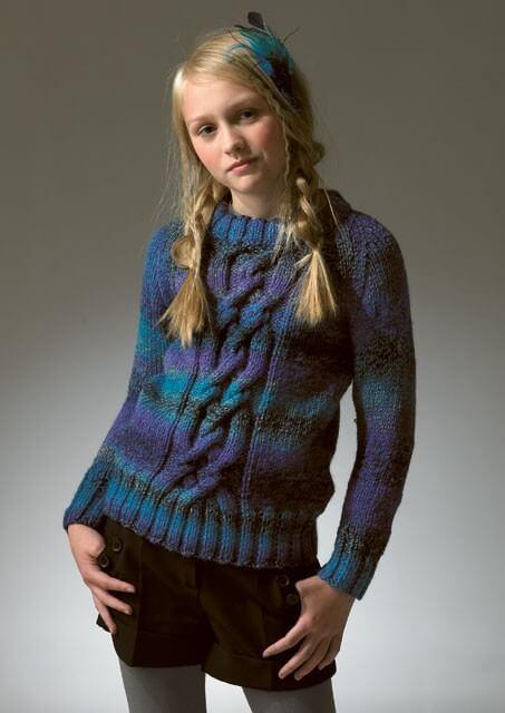 Knitting Pattern James C Brett JB050 Children's Chunky Jumper