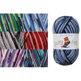 James C Brett Funny Feetz 4 PLY Yarn 100g Ball Knitting Yarn Knit Craft