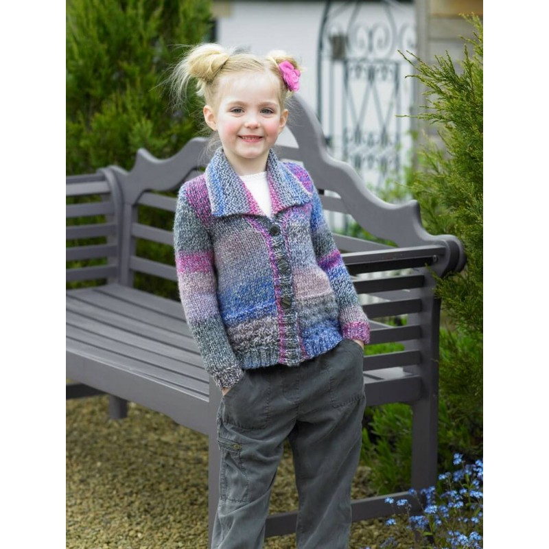 782aa17180ee6 Knitting Pattern James C Brett JB455 Children s Chunky Cardigan