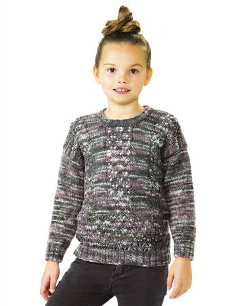 Knitting Pattern James C Brett JB476 Children's DK Jumper