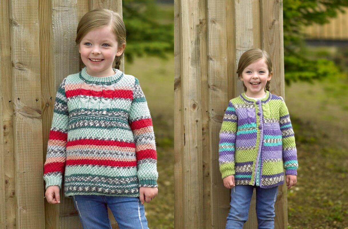 Knitting Pattern James C Brett JB488 Children's DK Jumper