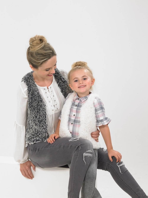 Knitting Pattern James C Brett JB539 Children & Adults Fashion Vest