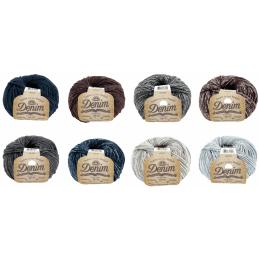 DMC Natura Denim Cotton 50g Ball Crochet Yarn Crocheting Craft