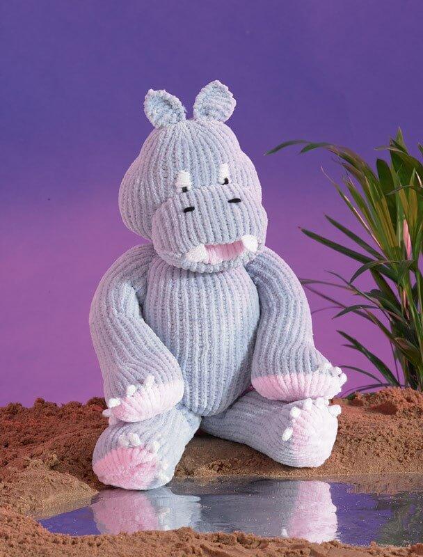 Knitting Pattern James C Brett JB457 Chunky Rhino Stuffed Toy