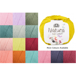 DMC Natura Cotton 50g Ball Crochet Yarn 100% Cotton Crocheting Craft