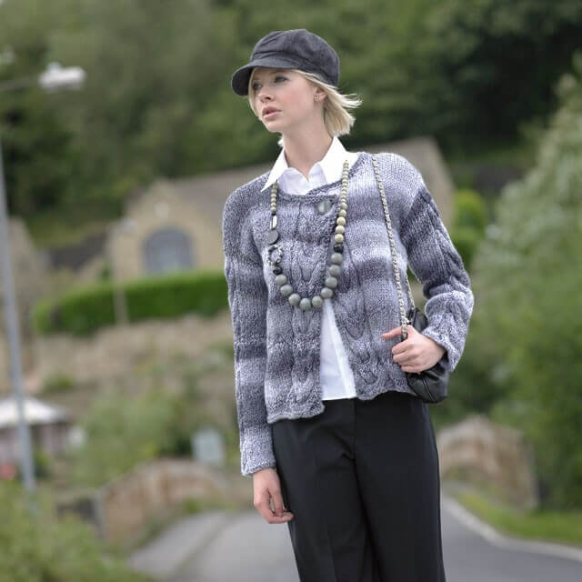 Knitting Pattern James C Brett JB022 Chunky Cardigan