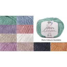 DMC Natura Linen 50g Ball Crochet Yarn Crocheting Craft