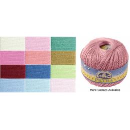 DMC Petra Crochet Yarn Size 3 100g Ball 100% Cotton Crochet Yarn Craft