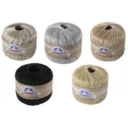 DMC Lumina 20g Ball Metallic Crochet Yarn Crocheting Craft