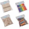 Trimits Plain Or Multicoloured Wooden Lollipop Sticks Craft Factory
