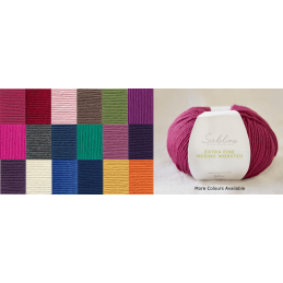 Sirdar Sublime Extra Fine Merino DK 50g Ball Wool Kniting Yarn Craft
