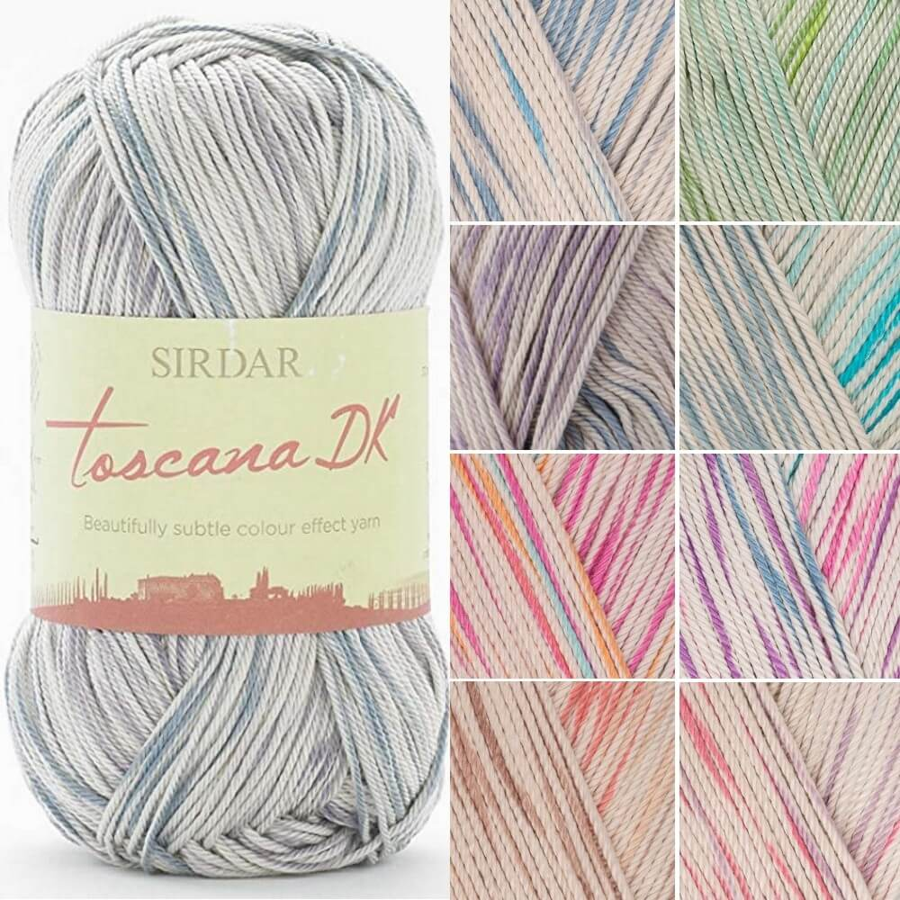 Sirdar Toscana Cotton DK Double Knitting Knit Crochet Crafts 100g Ball 110 Siena