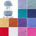 Sirdar No. 1 DK Double Knitting Yarn Supersoft Knit Crochet Crafts 100g Ball