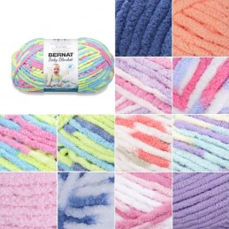 Bernat Supersoft Super Chunky Baby Blanket Polyester Knit Knitting Crochet Crafts 300g Ball