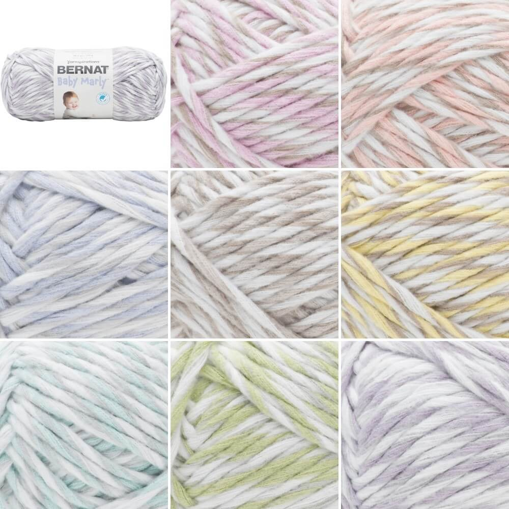 Apple Blossom Bernat Supersoft Chunky Baby Marly Blanket Polyester Knitting Yarn 300g Ball