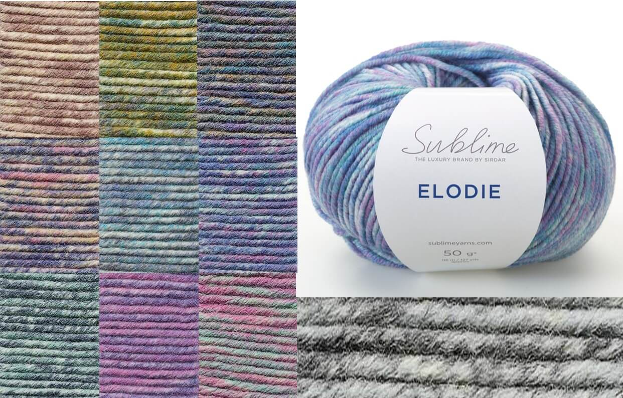 Sirdar Sublime Elodie Extra Fine Merino Wool 50g Ball Knit Craft Yarn Dreamcatcher 603