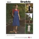 Simplicity Sewing Pattern 8641 Women's Jumper Dress