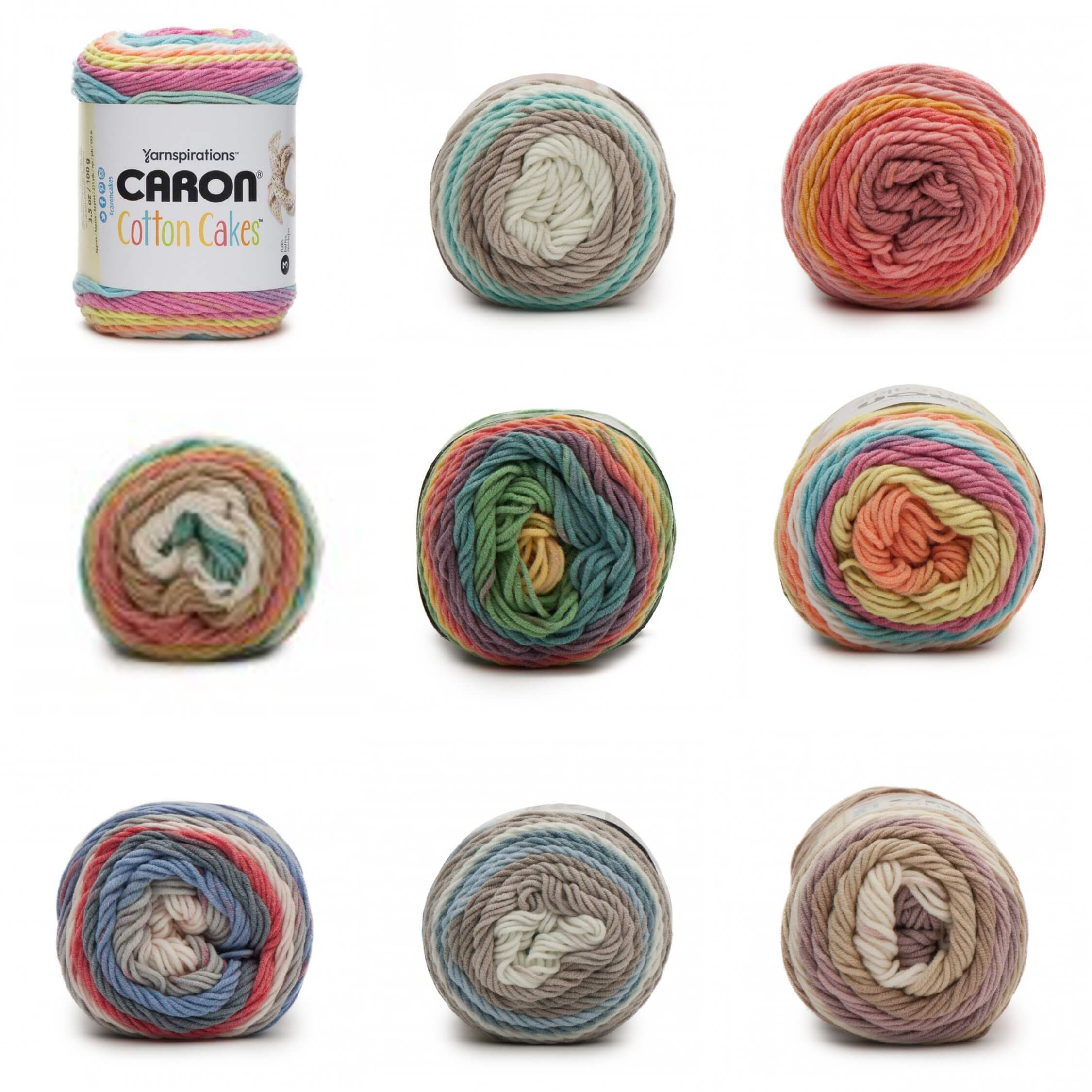 Garden Oasis Caron Cotton Cakes 100g Ball