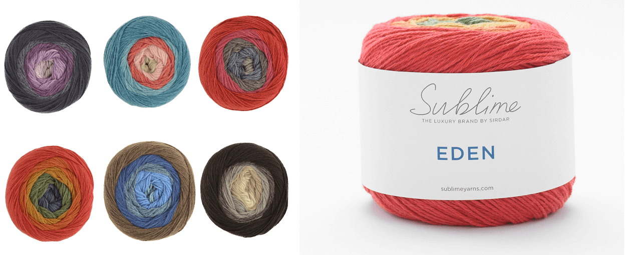 Sirdar Sublime Eden DK 55% Wool 45% Cotton 150g Ball Knit Craft Yarn Anja 632