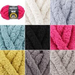 Bernat Blanket Big Jumbo Yarn Polyester Knit Knitting Crochet Crafts 300g Ball