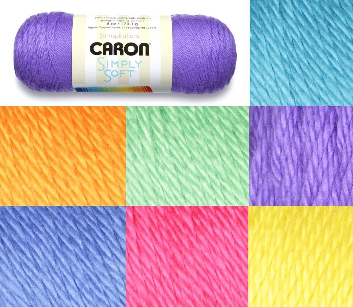 Grape Caron Simply Soft Brites 170g Ball