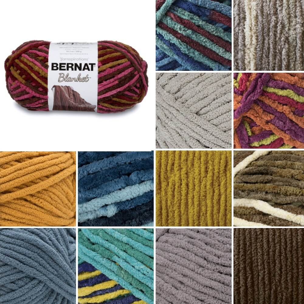 Aquatic Bernat Brights Super Chunky Yarn Polyester Knit Knitting Crochet Crafts 300g Ball