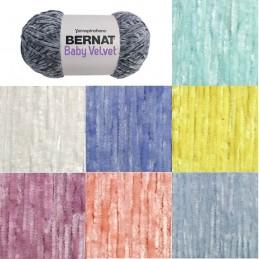 Bernat Baby Velvet Chunky Yarn Polyester Knit Knitting Crochet Crafts 300g Ball