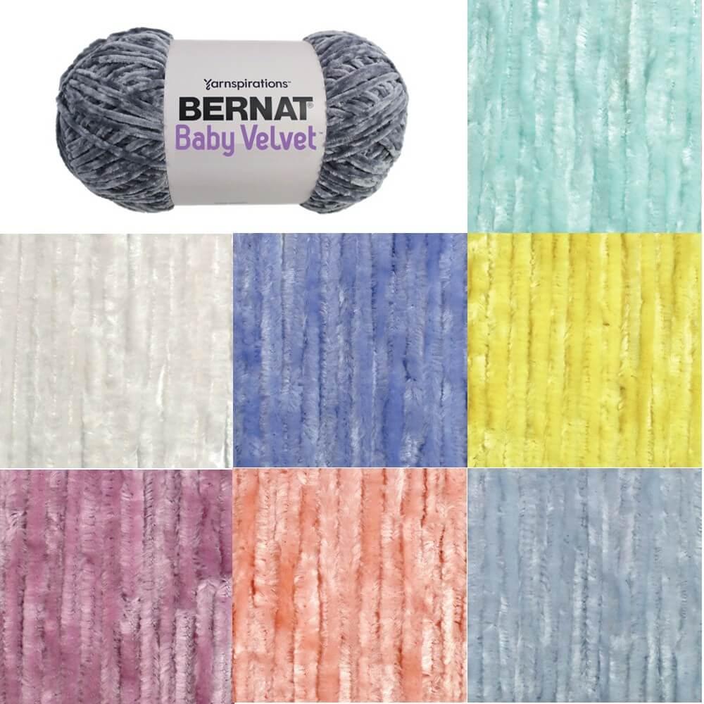 Bleached Aqua Bernat Baby Velvet Chunky Yarn 300g Ball