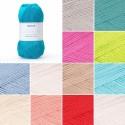 Sirdar Cotton 4 Ply Knitting Knit Crochet Crafts 100g Ball