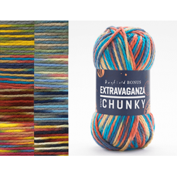 Sirdar Hayfield Bonus Extravaganza Chunky 100% Acrylic 200g Ball Knit Craft Yarn