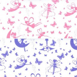 Polycotton Fabric Magical Fairies Fairy Wishes Fantasy Craft Material