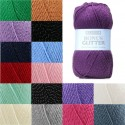 Sirdar Hayfield Bonus Glitter DK 100g Ball Knit Craft Double Knit Yarn