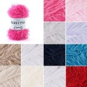 Sirdar Funky Fur Novelty Eyelash Knitting Knit Crochet Crafts 50g Ball