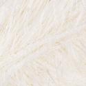 Sirdar Funky Fur Novelty Eyelash Knitting Knit Crochet Crafts 50g Ball Ivory 201