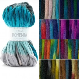 Sirdar Bohemia Ultra Super Chunky Knitting Knit Crochet Crafts 150g Ball