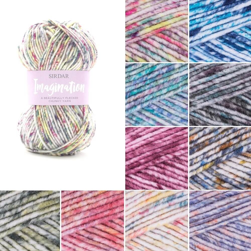 Sirdar Imagination Chunky Knitting Knit Crochet Crafts 100g Ball Stormcloud