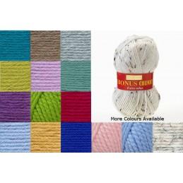 Sirdar Hayfield Bonus Super Chunky 100g Ball Knitting Crochet Knit Craft Yarn