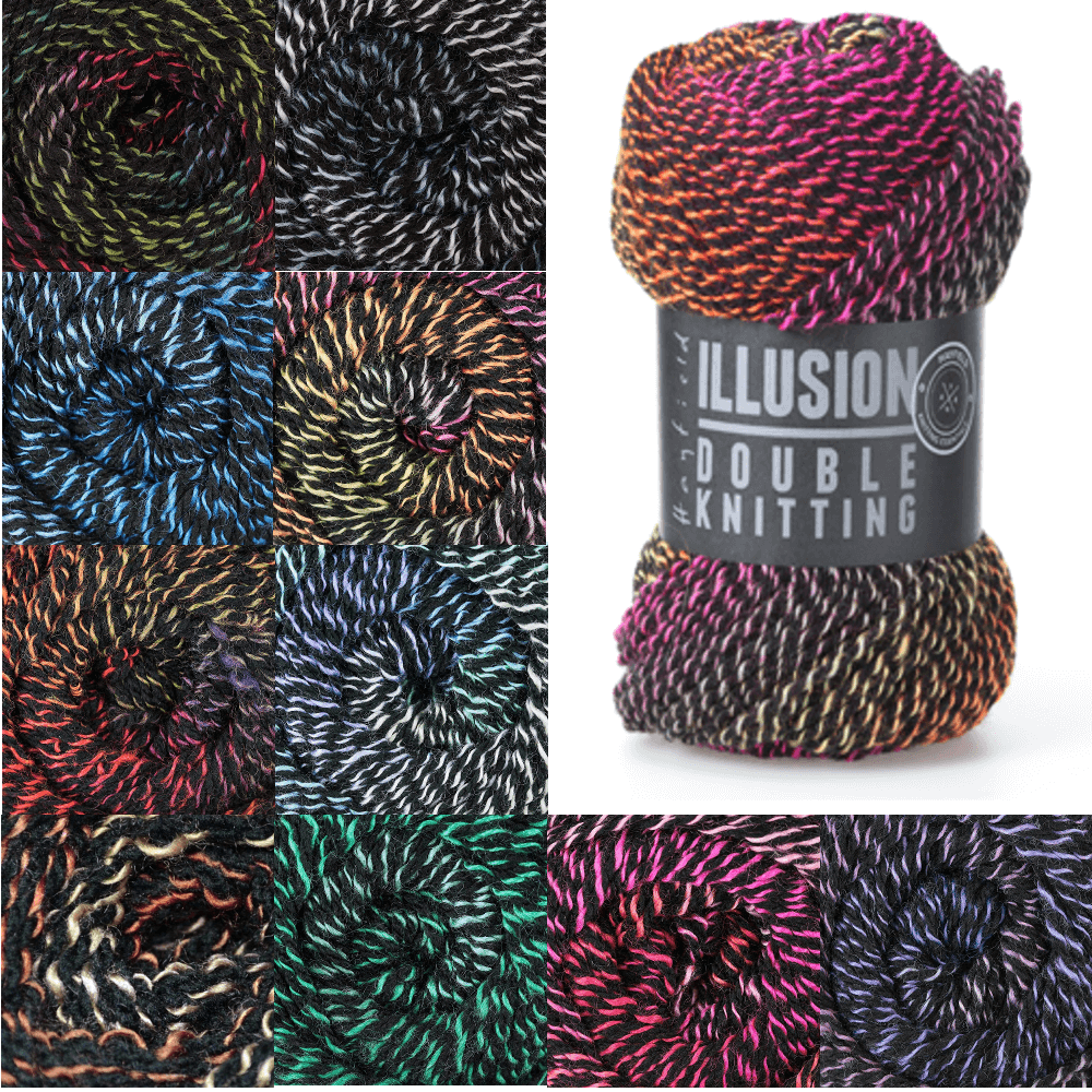 Sirdar Hayfield Illusion DK 100% Acrylic 100g Ball Knit Craft Yarn 300 Presto