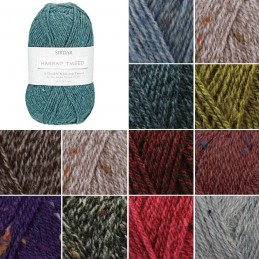 Sirdar Harrap Tweed DK Double Knitting Knit Crochet Crafts 50g Ball