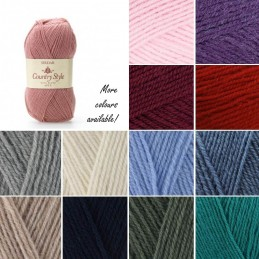 Sirdar Country Style 4 Ply Knitting Knit Crochet Crafts 50g Ball