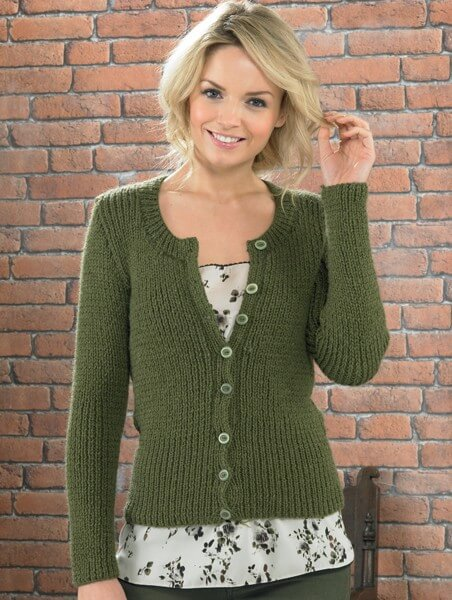 Knitting Pattern James C Brett JB226 Aran Cardigan